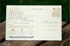 love this RSVP; mix this one and previous one (with the cool font). yeah :)