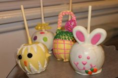 Cute Easter apples, love these!