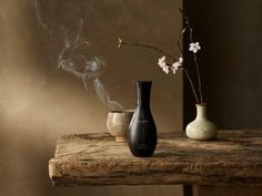 Japanese architect Kengo Kuma has designed the natural-looking packaging for Aman hotels' natural-looking skincare range. Kengo Kuma, Vases, All Natural Deodorant, Skincare Packaging, Hotel Concept, Hotel Branding, Face Mist, Tea Art, Architect Design