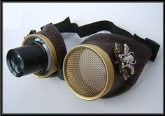 Steampunk-Inspired Lamps : designer Art Donovan