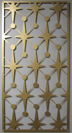 MOD Vegas Stars No 1 Floating Wall Art in 46 X 23 available in 25 colors metal wall art.
