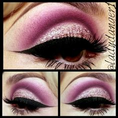 .@Diana Sanchez | Used my make up forever glitter on this look. #cutcrease #vegas_nay #maccosme...