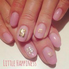 スタッズネイル #ネイル#nail#ネイルアート#原宿#リトルハピネス#LittleHappiness#nailart#ネイルデザイン