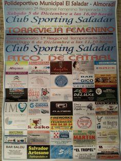 Club sporting saladar femenino,colabora salvador artesano