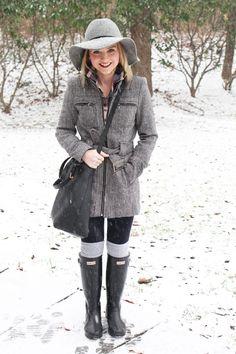 Hunter boots :3