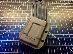 AK Mag Pouches Custom Holsters, Kydex Holster, Leather Backpack, Pouches, Edc, Weapons, Guns, Awesome, Projects