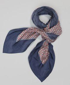 Clover Fortune Silk Bandana - Dress Blues - Levis - levi.com