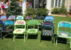 wish we had meetings at our house so we could make our chairs <3