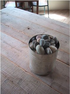 Why is a bucket of rocks so aesthetically pleasing?    Anthem Cafe & Bar in Japan : Remodelista
