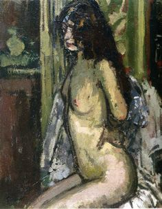 Walter Sickert, Seated Nude, 1906