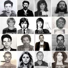 Classic Celebrity Mugshots Make Great Art | Apartment Therapy