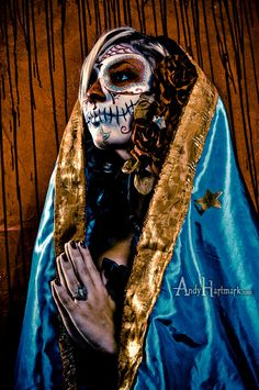 Alternative Model Lexi Williams Guadalupe Day Of The Dead by Andy Hartmark