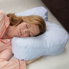 Side Sleeper Pillow - A night and day difference for side sleepers!
