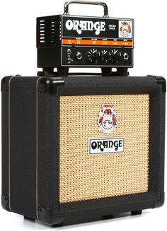 "Orange Micro Dark Stack - Head and 1 x 8"" Cabinet   Sweetwater.com"