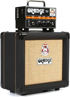 "Orange Micro Dark Stack - Head and 1 x 8"" Cabinet 