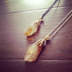 A personal favorite from my Etsy shop https://www.etsy.com/listing/178257711/gold-natural-stone-crystal-necklace-with
