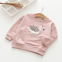New 2018 spring and autumn girls baby letter cartoon shirt children shirt long sleeve T shirt kids girls tops tees //Price: $27.80 //     #kids