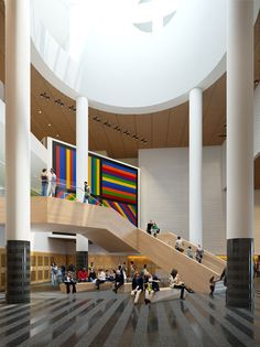 Snøhetta unveils new staircase for San Francisco Museum of Modern Art