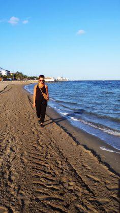 Taking a walk at the mediterranea beach. Miss this place so much!