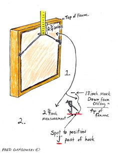 How to hang a picture - a helpful guide