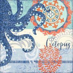 North Shore Octopus by Jennifer Brinley | Ruth Levison Design