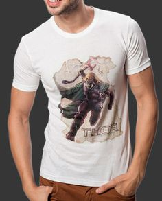 The hammer-wielding superhero by Marvel Comics, The Mighty Thor is here to save humanity from all evil. Slip me on, and see what happens. Shop Now: http://voxpopclothing.com/thor/MATH0002MWH