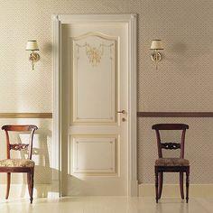 Luxury Classic Doors Collection - traditional - Interior Doors - New York - Ville Doors Interior Door Trim, Interior Door Styles, Door Design Interior, Classic Home Decor, Classic Interior, Traditional Interior Doors, Blue And White Living Room, Modern Exterior Doors, Classic Doors