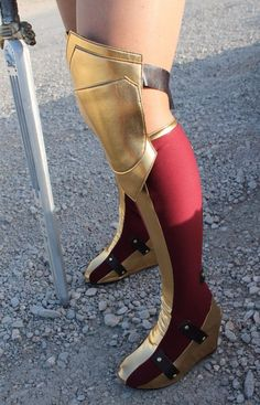 New Wonder Woman Boot Covers Bootcovers by VivaWW on Etsy