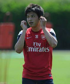 ryo miyachi #arsenal #gunners #training