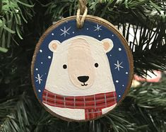This item is unavailable Christmas Fair Ideas, Christmas Wood Crafts, Homemade Christmas Decorations, Christmas Trends, Christmas Tree Ornaments, Holiday Crafts, Christmas Crafts, Deco Noel Nature, Christmas Embroidery