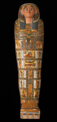 Inner coffin of Nesmutaatneru | Museum of Fine Arts, Boston