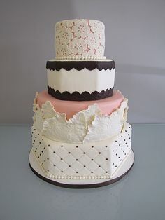 Wedding Cake by confectioneiress, via Flickr