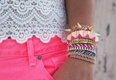Making the ordinary bracelets of friendship fashionable!