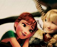 Anna and Astrid? Is this a ship because I totally love it!!!!!