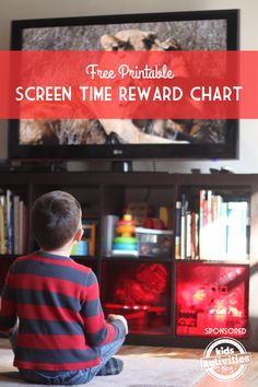 This free printable screen time reward chart is a great way to limit screen time and encourage positive behavior at the same time.
