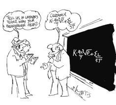 Maths cartoon