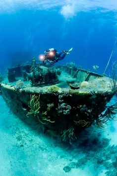Wreck Diving Bahamas Image supplied by Stephen Frink/Waterhouse, 2008