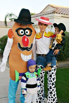 The Urban Acre Betties-Toy Story Gang Halloween.