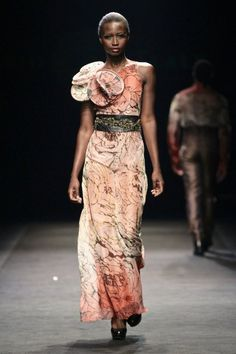David Tlale -- this dress is gorgeous
