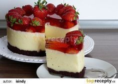 Krupicovopudinkový letní dort recept - TopRecepty.cz Mini Cakes, Cupcake Cakes, Summer Cakes, Mini Cheesecakes, Cheesecake Recipes, No Bake Cake, Amazing Cakes, Sweet Recipes, Trifle