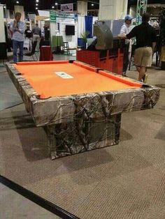 Redneck pool table