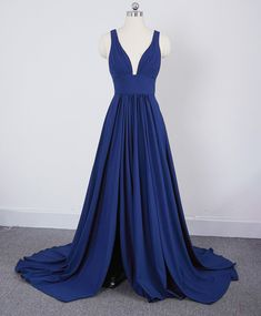 Summer V Neck Sexy Bridesmaid Dress Long Maid of Honor Women Wedding Evening Gown Light Blue Bridesmaid Dresses, Modest Bridesmaid Dresses, Grad Dresses, Cheap Prom Dresses, Modest Dresses, Formal Dresses, Bridesmaids, Wedding Dresses, Wedding Evening Gown