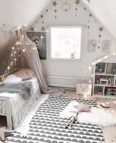 Girls' Rooms with Magic - Kids Interiors Baby Bedroom, Girls Bedroom, Bedroom Decor, Minimalist Kids, Kids Room Design, Little Girl Rooms, My New Room, Magic Kids, Home Decor