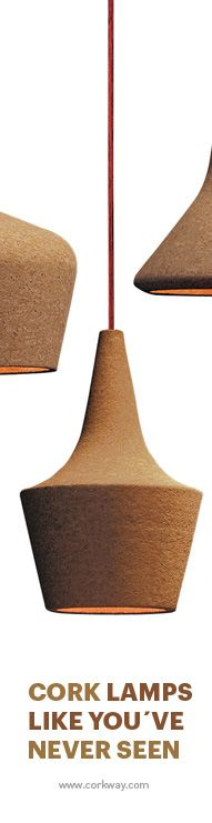 LAMPARA DE CORCHO http://www.corkway.com/37-cork-lighting