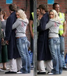 "David Tennant + Billie Piper | Doctor Who | Behind the scenes ""The Christmas Invasion"""