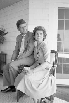 September 10, 1953.  Jackie Kennedy at John F. Kennedy's family home in Hyannis Port, Massachusetts.