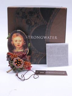 NEW! JAY STRONGWATER Oval on Bouquet Picture Frame Rosanna Autumn SPF5139455