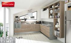 Start-Time: massima personalizzazione come espressione del Quick Design di Veneta Cucine | Arredamento.it