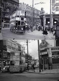 Holloway Road, Nag's Head junction 1930's & 1950's   Flickr