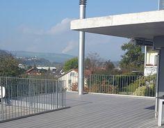 WPC - Terrasse Eco Deck FineLine in Steingrau Wpc Decking, Outdoor Decor, Design, Home Decor, Patio, Decoration Home, Room Decor, Home Interior Design